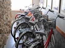 【レンタサイクル】宿泊のお客様は1日¥1,000でレンタル可能