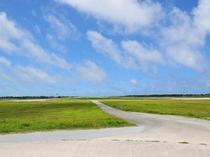 【周辺:下地空港】空港滑走路