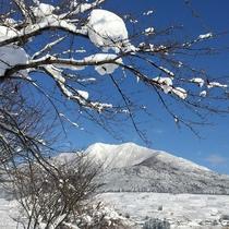 高社山(こうしゃさん)標高1365m 冬 よませ温泉スキー場