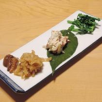 *【夕食一例】季節の旬をお愉しみいただけるお料理をご用意しております。