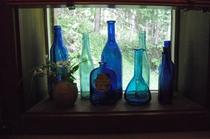 洗面所‥青いボトル
