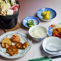 *お夕食一例/ボリュームあるお食事をお召し上がり下さい。