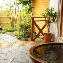 温泉古代檜露天風呂