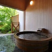 古代総檜露天風呂