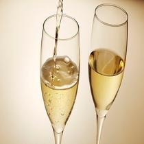 アニバーサリーはシャンパンで乾杯♪