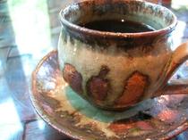 高原でコーヒーを