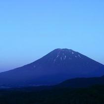 【〜 羊岳百景 〜 夜のシルエット】