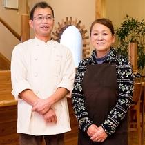 料理上手で気さくなご主人と、笑顔が素敵な女将さん。付かず離れずの距離感を保ったサービスが心地よい