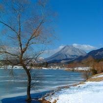 冬の志高湖