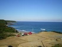 鉄浜海岸展望