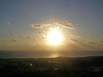 安納の朝日