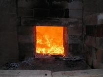 鉄窯 火入れ