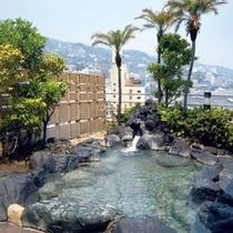 熱海温泉 ホテルサンミ倶楽部 露天風呂