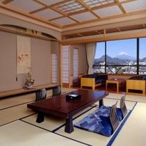 【特別室】富士山一望のひろ~いお部屋