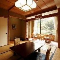 【西館和室8帖】お部屋の風呂は温泉