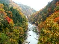 老神温泉の紅葉