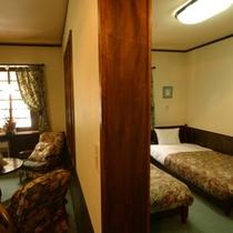 【客室*207】客室と寝室がわかれています♪