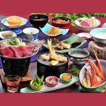 信州牛ほお葉焼付★竹コースのお料理一例です