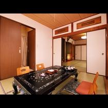 【有明】和室二間[8畳+6畳](トイレ・洗面)