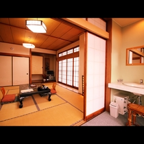 【初雁】和室10畳(トイレ・洗面・板縁)