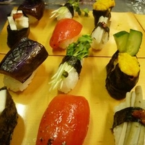 創作野菜寿司