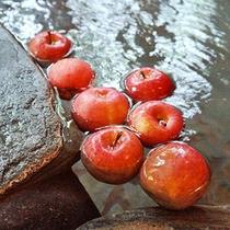 [リンゴ風呂]