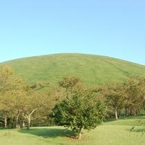 ③伊東市のパワースポット、リフトで頂上まで登れる大室山