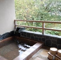 207号室・海一望の客室専用露天風呂