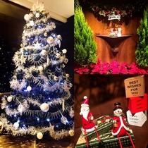 一景閣もクリスマスムード★サンタさんと雪だるまがお出迎え♪