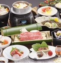【花の膳】当館一番人気の和食会席です。