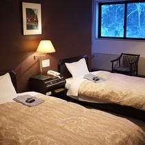 *【部屋/ツイン】カップル・ご夫婦などでのご宿泊やビジネス利用に最適です!