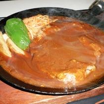 *【夕食全体例/洋食】メイン料理は3種類から選べます。(こちらはポークチャップです)