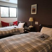 *【部屋/ツイン】カップル・ご夫婦などでのご宿泊やに最適!