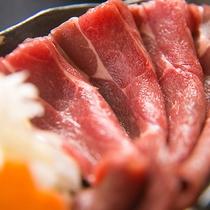 【八溝ししまる】地元の名物ジビエ。上質な肉質はクセも少なく、是非一度は食べていただきたい一品です。