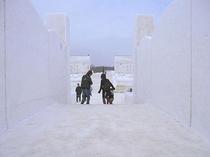 小岩井農場、雪まつり
