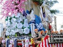 盛岡八幡宮、祭礼、山車
