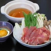 【秋】銘柄鶏のすき焼き