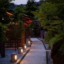 ■熊野蓬莱・外通路(夕暮れ)