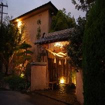 ■外観/夜のお宿