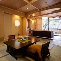 ■飛鳥・沙羅<露天風呂付和室>/お部屋