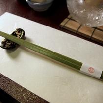 ■館内/世界にひとつだけのてづくり箸
