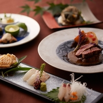 ■夕食/一例