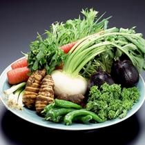 *地産地消を心がけ、野菜は京野菜をしようしております。