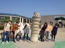 世界の建物で記念撮影♪オノコロパーク