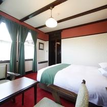 【客室/スタンダードダブル】世界のベッドとして愛されるこだわりのシモンズのベッド。