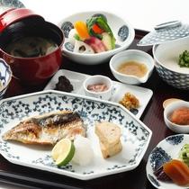 【食事/朝食】和食膳(料理一例)