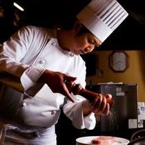ステーキ店「そむり」 シェフ