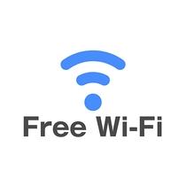 全館、全室Wi-Fiの無料接続が可能です