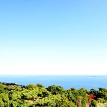 *天候に恵まれれば、バルコニーから太平洋が一望できますよ♪