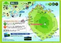 利尻島サイクリングマップ